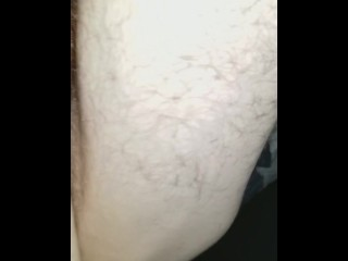 Big cock fucks my wet pussy sideways POV