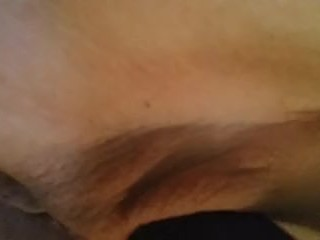 Amateur Big Tits Milf Masturbates with Vibrator and Anal Beads in Bed
