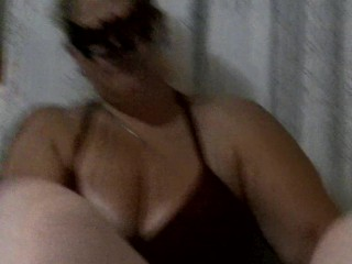 BBW POV Handjob with Sucking and Cum Swallowing