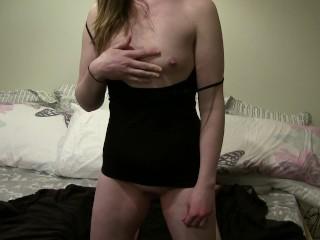 Irish girl oil massage and maturbation