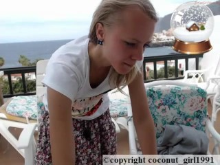 Teen spraed Shaved pink pussy coconut_girl1991_091216 chaturbate LIVE REC