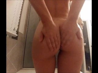 Butt/blowjob on cock cowgirl and