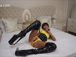 Anisyia Livejasmin Inflatable buttplug double penetration ATM