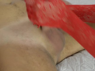 My first ball sucking, blowjob and cum in mouth
