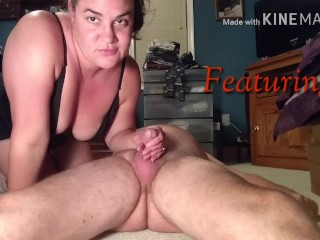 Horny wife with a nice fat ass bounces on some cock - Cum at the same time!