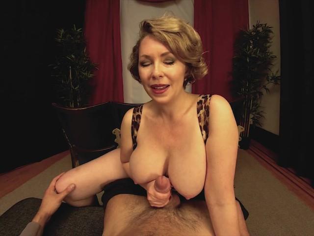 Big Tits Milf Girlfriend Gives You A Handjob In The -7727