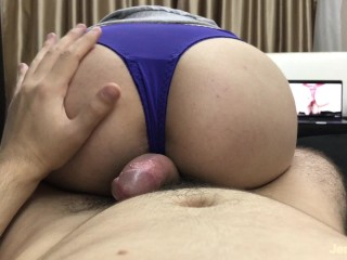 Step Brother Fuck Me While I Watching Porn - He Cum Inside Me - Creampie