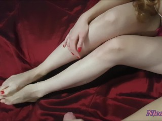 NicoleAce's footjob,blowjob and titsjob (3in1)