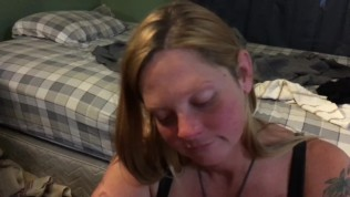 New whore tell about dude that creeped on her and titty fucked her for cash