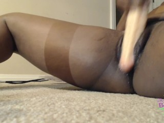 Jay Plays with Double Ended Dildo