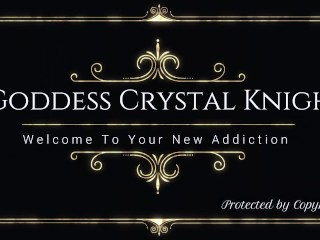 Stay A Virgin Forever For Me Countess Crystal Knight Sub Training Mind Fuck