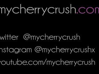 cherrycrush candy compilation- Deep Throat & Butt plugs, Anal BJ & facial