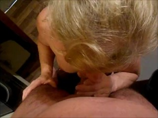FBB sucks cock gets fucked with dribbly Pussy