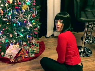 Hot Step mom gets caught putting out presents JOI, JOI Queen Keri Love