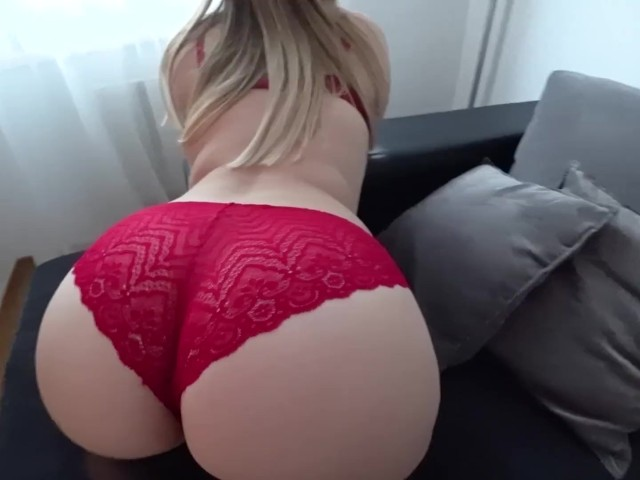 Sex in Stockings and Through Red Panties - Free Porn Videos