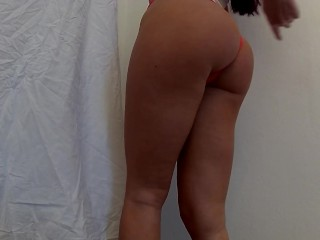 When I'm Home Alone. I Play With My Wet Pussy, Show Ass & Tits. Love Dildo