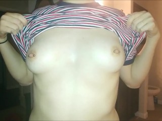 New Years Fucking, Big Booty Amateur Sucks One and Gets Some Cum on Her Ass