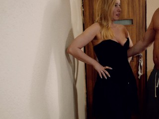 Two mean guys spanking and fucking hot Kate Truu like a fucktoy PART 1