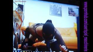 HARDER Torture of a slut slave – Spiel maschinerie's Skype session no.2