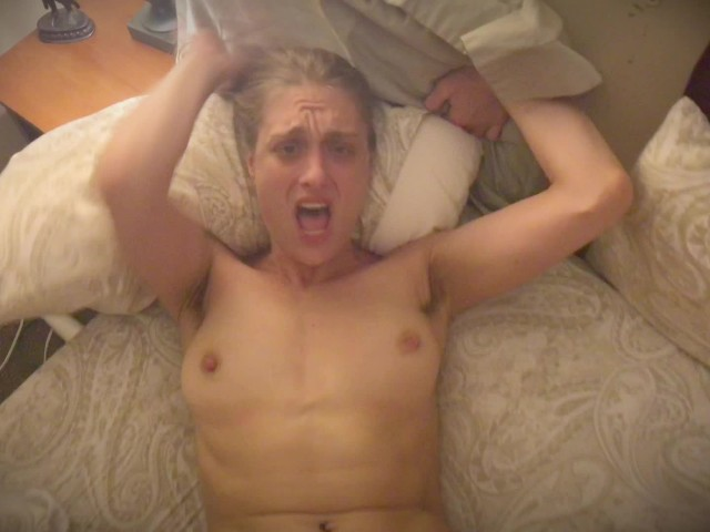 Mature Sexy Hippie Screaming & Crying While Fucking Bf With ...