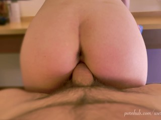 Ivy Lee Hot Fuck and Facial with Blowjob scene