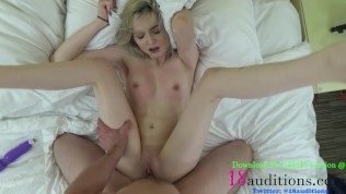 Teen Creampie PERFECT TITS Home Sex Tape