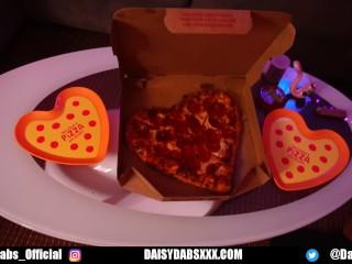 Valentine Surprise Pizza Fuck