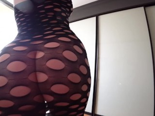 Young sexy girl with big ass fucking