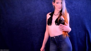 Full Length Video: Sensual Brat Jeans JOI Game