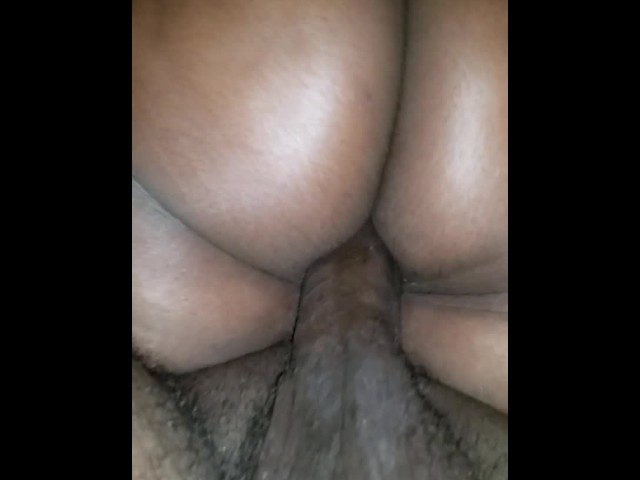 Ebony Phat Ass Riding Dick