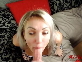 mommy sucks cock