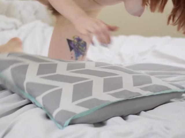 Horny Teen Humping Pillow