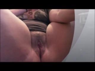 Sexy thick white slut spread open