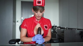 GRAB THAT COCK AND GIVE NURSE BROOKS YOUR SAMPLE XXX