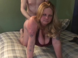 New Whore doggy bang piece of TX/Houston trash sorry friends used pussy now