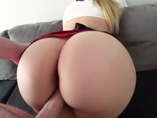 Big Ass Schoolgirl has sex