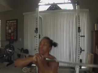 Girl/babe fitness ebony instruction for