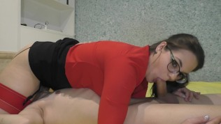No Hands 69 Blowjob From teacher at home