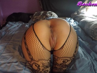 Ass/play/pussy ass bodystocking and housewife