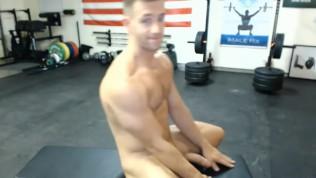 str8 selfsuck muscle men