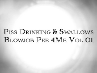 Piss Drinking Swallows Blowjob Pee 4Me Vol 1 Angie Noir StepSon Peter