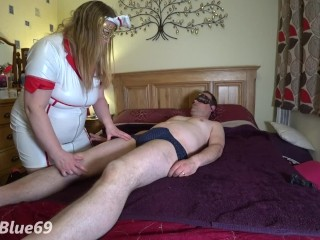 Nurse Jenna gets an Anal Workout with Butt Stretching Dildos and a Creampie