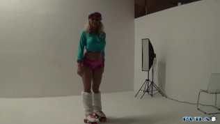 Leya Can't Roller Skate