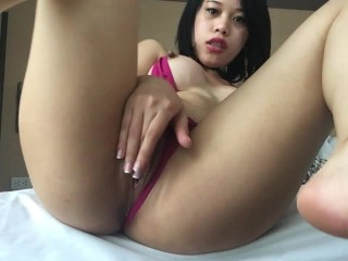 in need of sex asian whore masturbate banged herself with 2 cocks