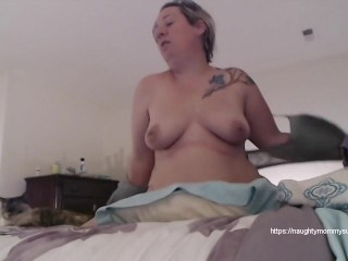Mature Milf Humps Pillow With Orgasm & Squirts in Panties