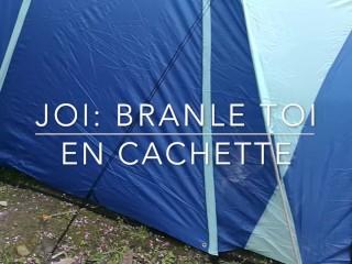 JOI français: branle toi et jouit rapidement en secret (cache toi)-SOLVEIG