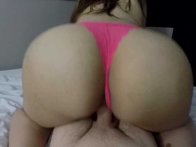 Teen Reverse Cowgirl Close Up