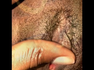 Ebony Goddess with Perfect Ass has Fun with His Big Black Dick!