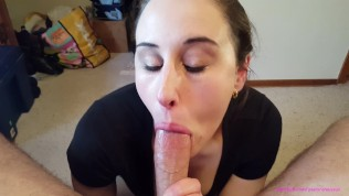 AnnieSux Deepthroat Training Gagging N Oral Creampie ;)