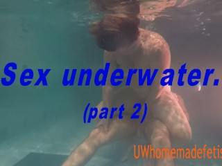 Alia/underwater sex part 2